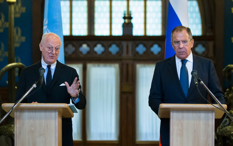 Russia calls for new Syrian constitution