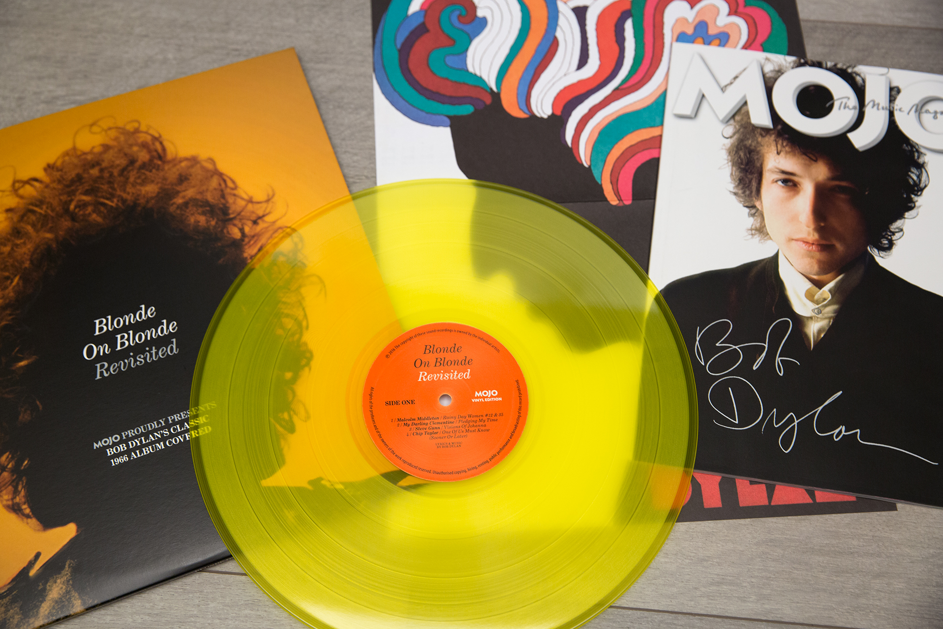 Bob Dylan Blonde on Blonde_By Moody Man via Flickr bajo Licencia Creative Commons.
