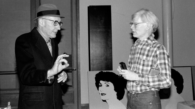 William Burroughs y Andy Warhol. (Foto: Bobby Grossman vía Metropoli)