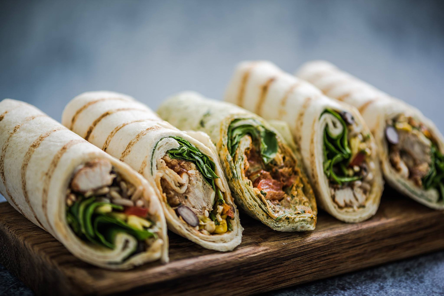 En Do Eat! tienen wraps fríos y calientes. ¡Intenta no comértelos de un bocado! (Foto: Do Eat!)