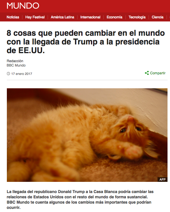 Screenshot BBC Mundo