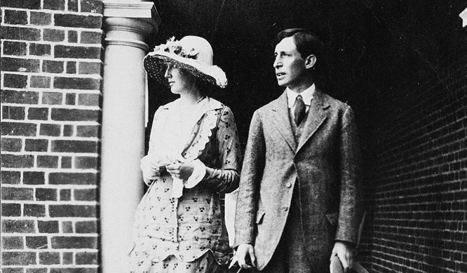 Virginia y Leonard Woolf el día de su boda 1912 | The New York Times archivo.