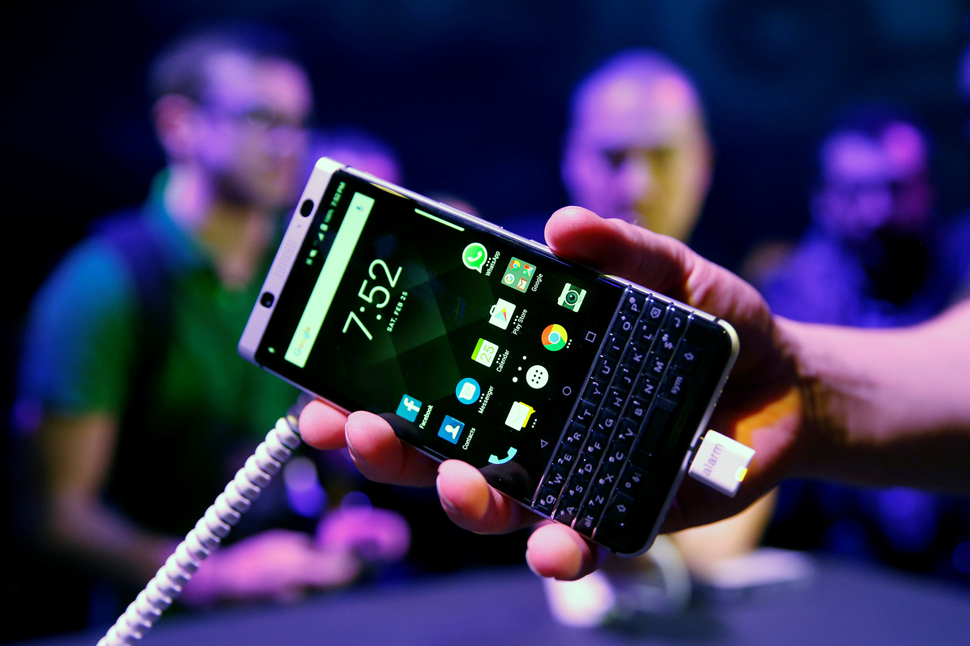 BlackBerry también intenta renacer con su KeyOne (Foto: Albert Gea / Reuters)