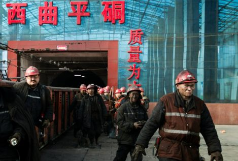 Mueren 18 mineros en China por un escape de gas tóxico