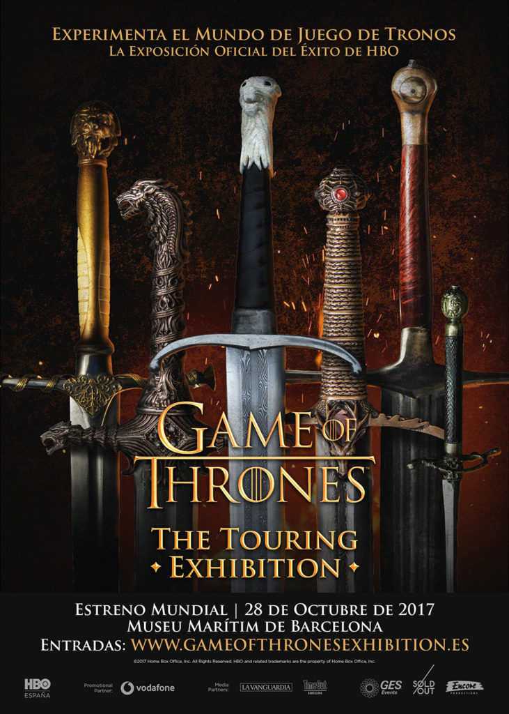 Game of Thrones: The touring exhibition, pactar con la ficción desde los decorados de la serie 5