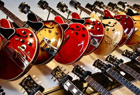 Gibson: la quiebra del rock