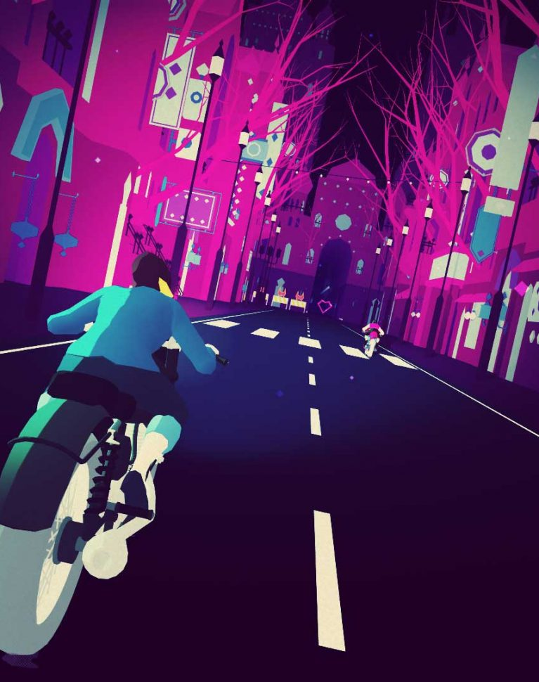 Gaming Sounds: Sayonara Wild Hearts, reivindicando el 'vaporware'