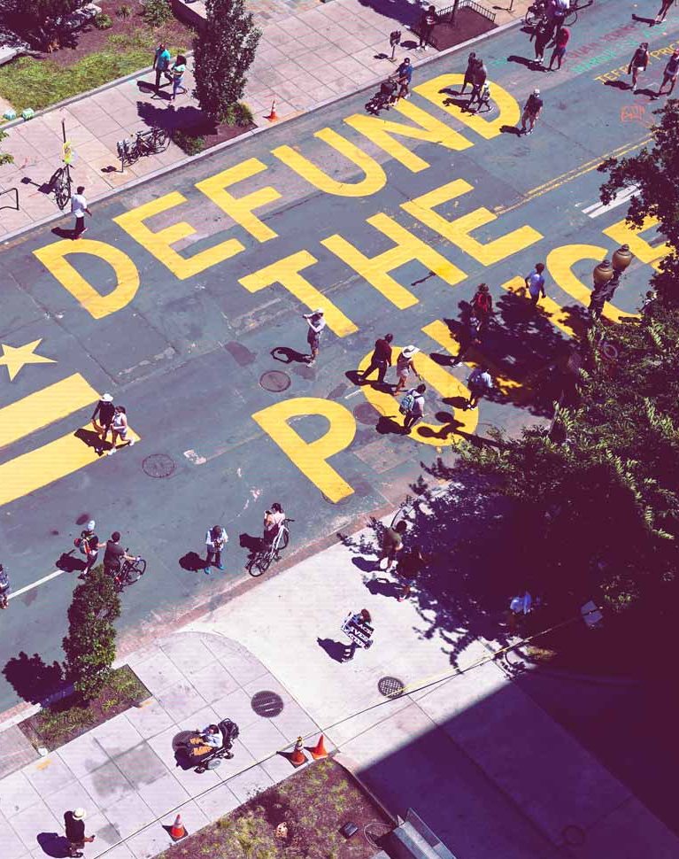 ¿'Defund the police'?